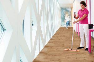 Laminate flooring is hygienic