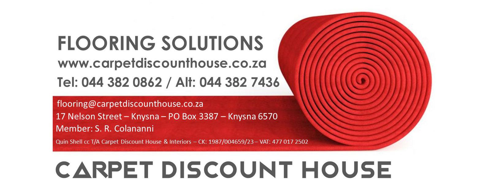 carpet discount house logo