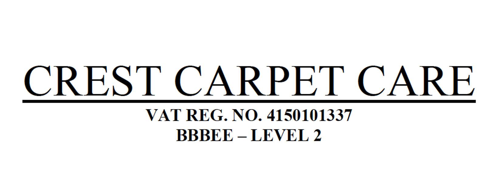 crest carpet care logo