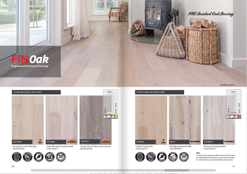 Finoak - prefinished