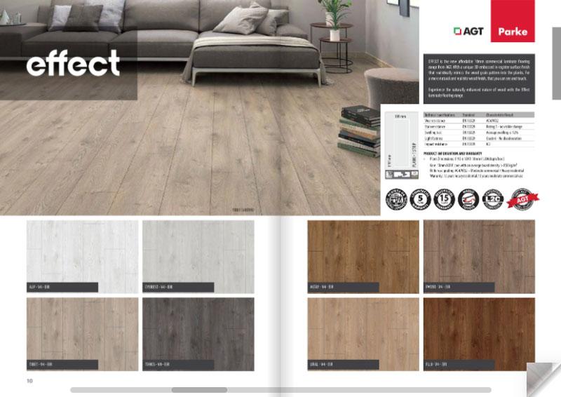 Effect flooring range