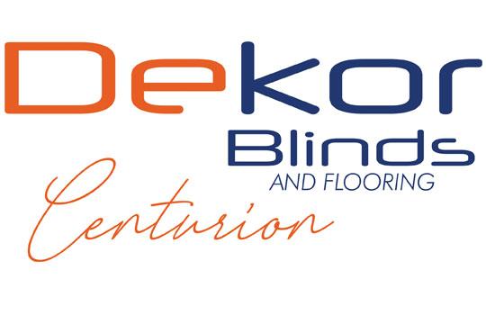 Dekor blinds and flooring centurion logo